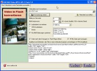 Screenshot von Video-AVI-MPEG zu Flash 1.0 - Videos ins Internet.